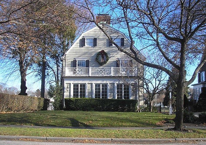 The 'Amityville Horror' house, renovated.