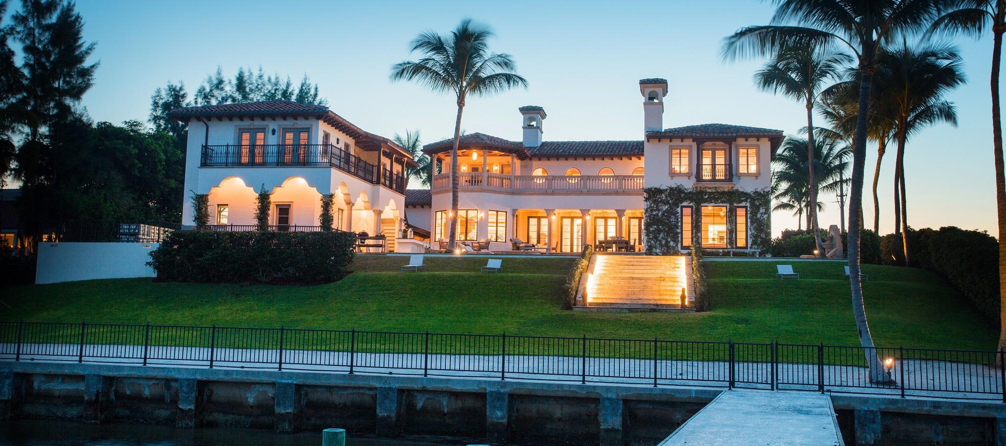Luxury listing: Modern Mediterranean waterfront estate