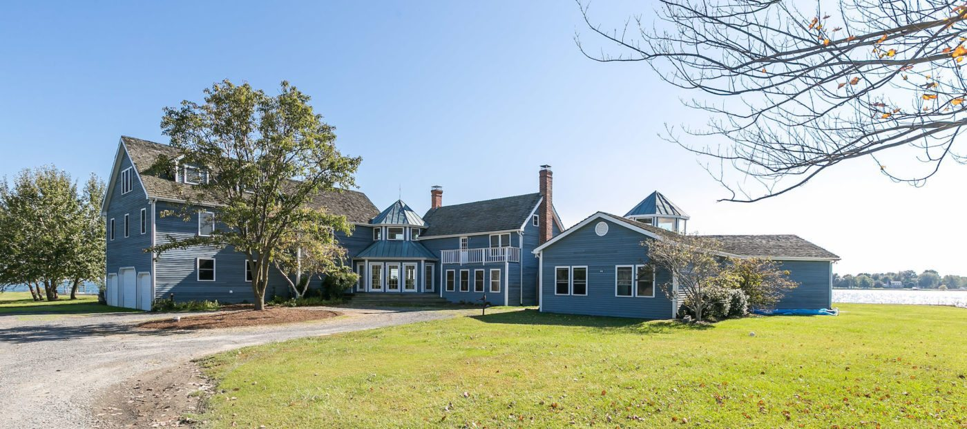 Luxury listing of the day: 7-bedroom beauty on Tilghman Island, Md.