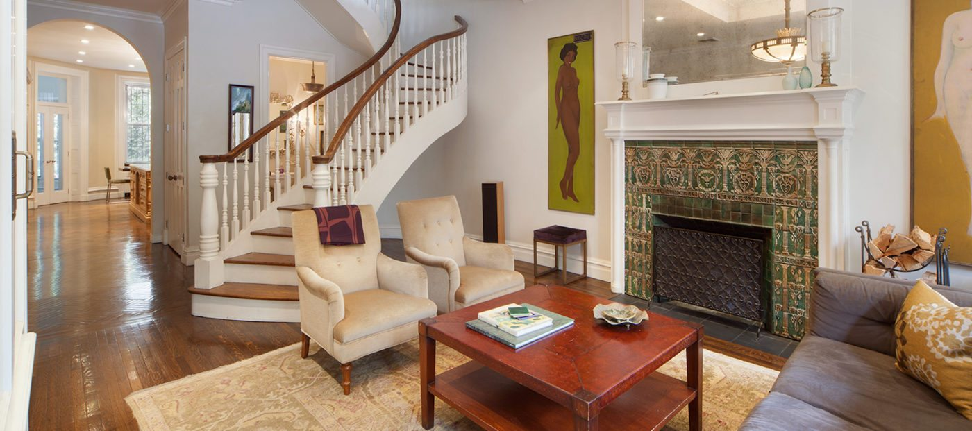 Luxury listing of the day: Townhouse on Stuyvesant Square Park