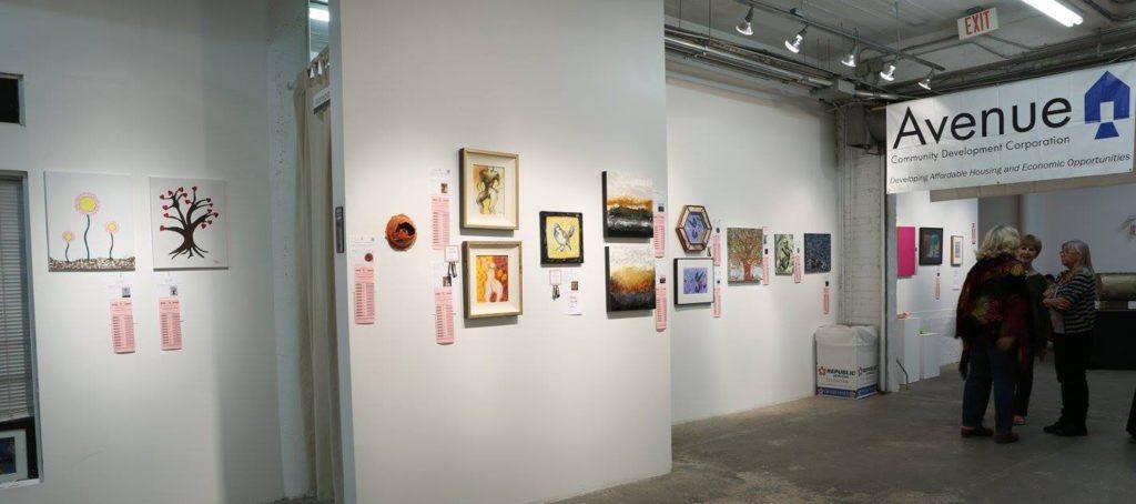 Houston art auction raises cash for nonprofit housing group