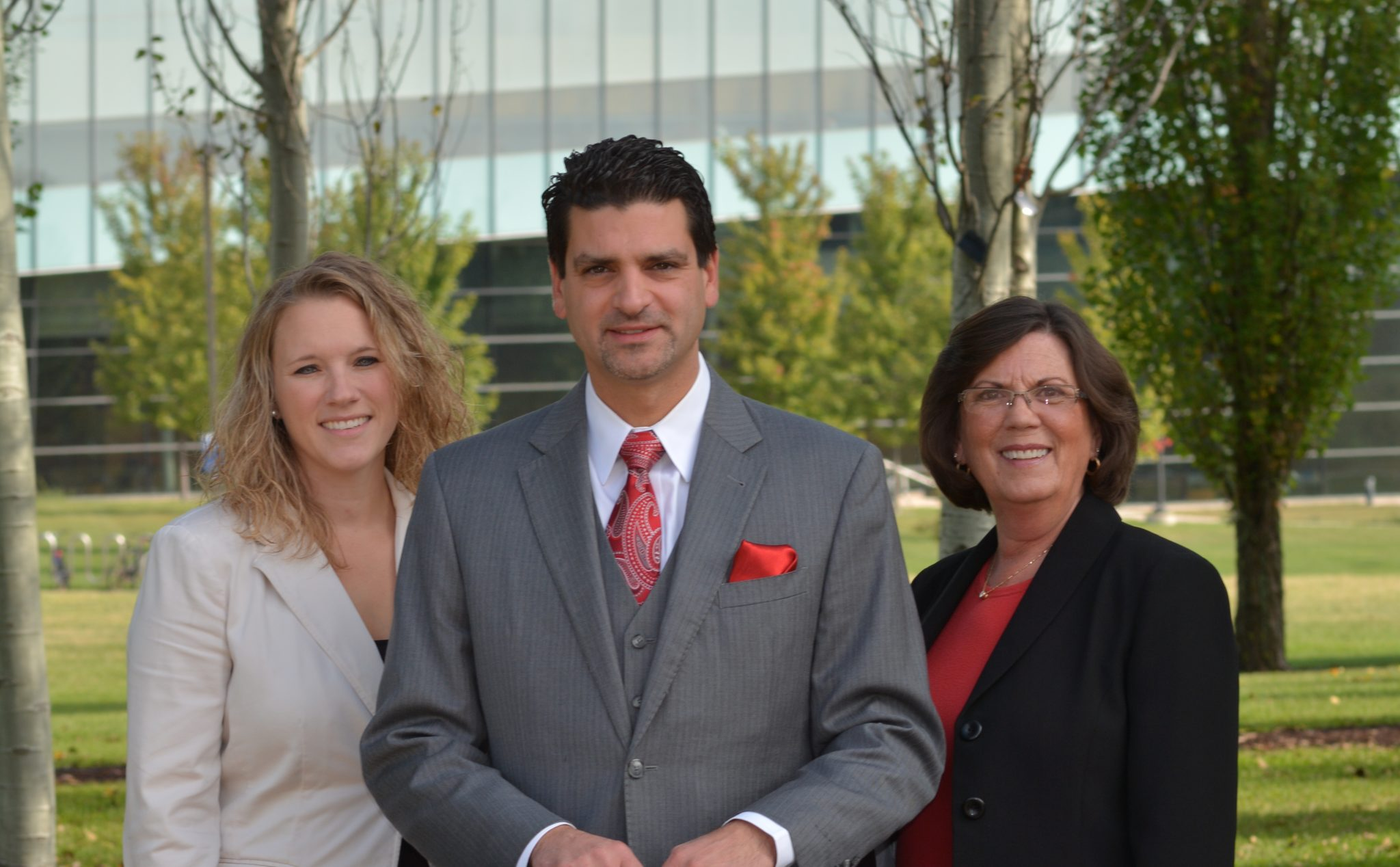 Krissy Bonson, Peter Chiarkis and Laurel Cardillo