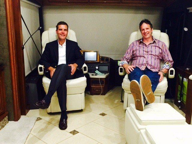 In CA... President Jason Gesing & Glenn