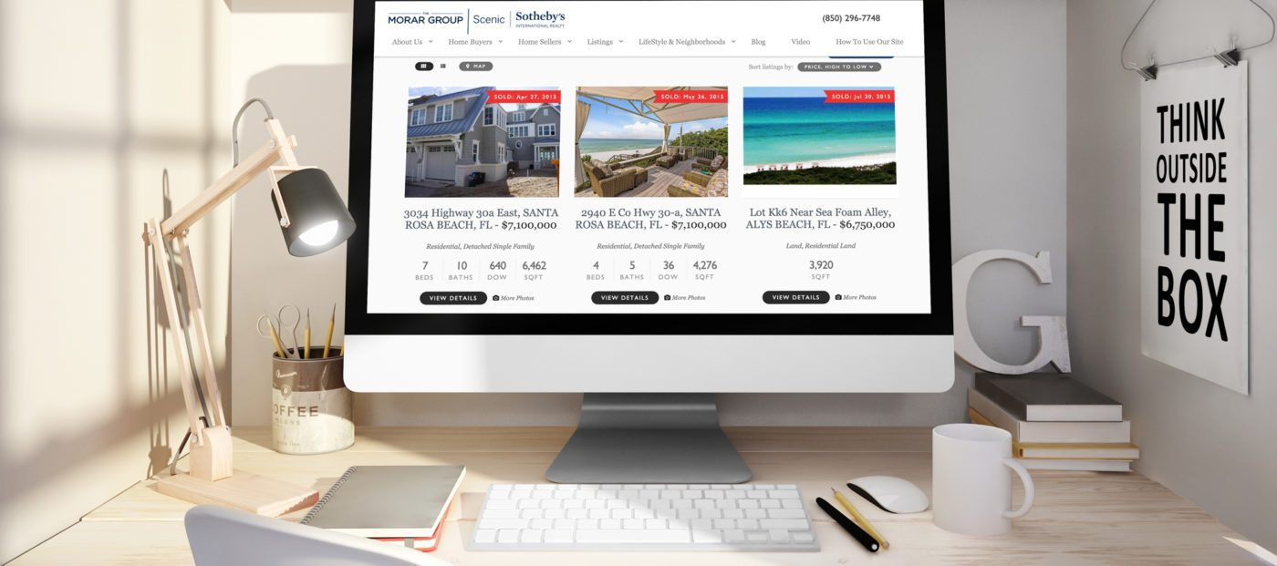 Why one broker-owner showcases sold listing data on his website