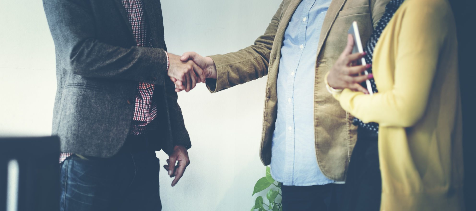Handshake or fist bump -- how do you greet people?