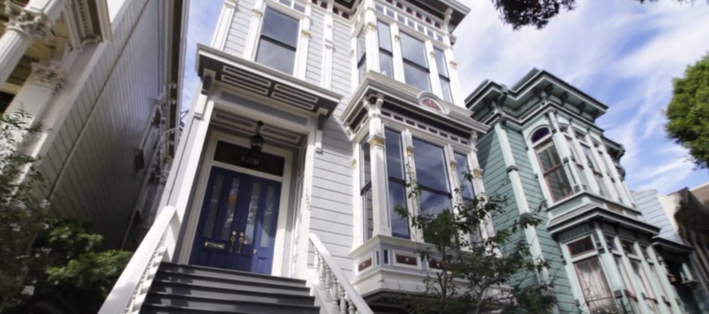 Listing video: Victorian stunner on Haight St.
