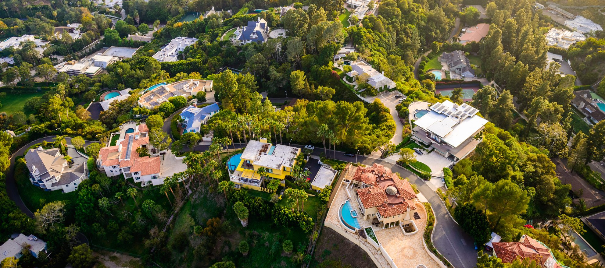 No slowing down luxury home sales in LA