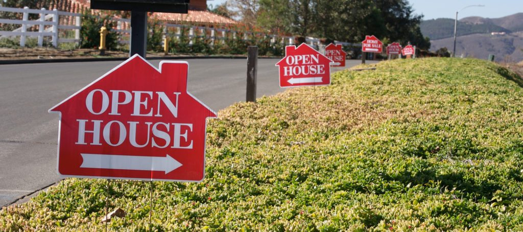 Could the Supreme Court put an end to open house signs?