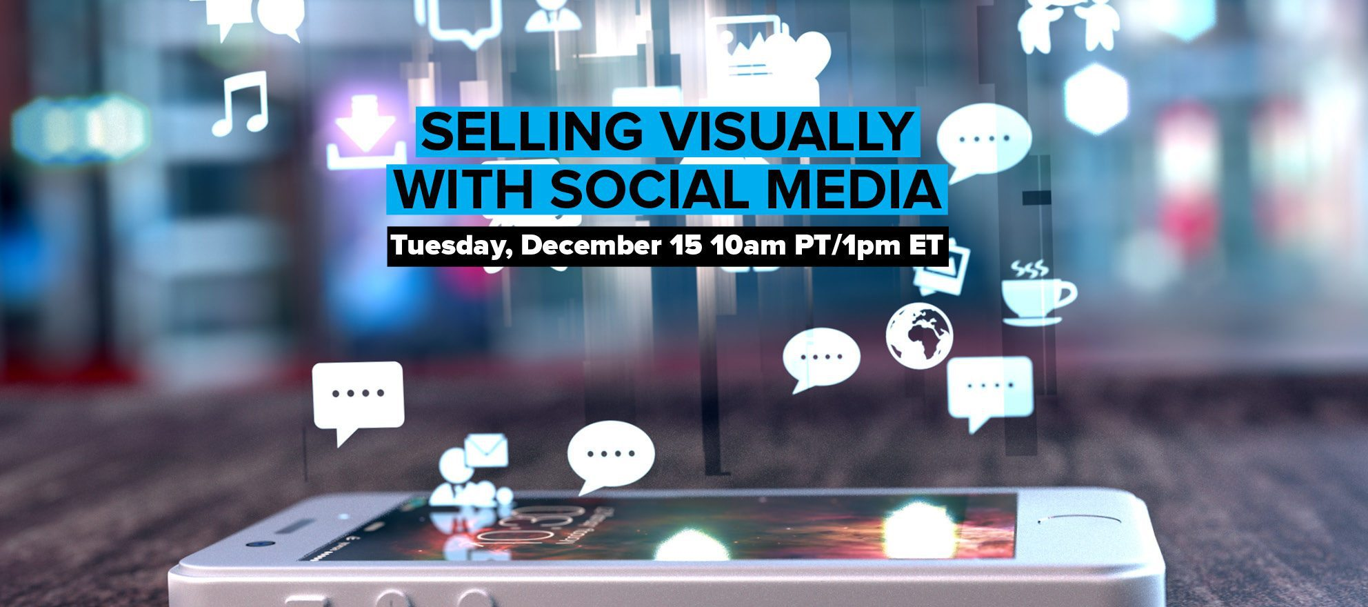 How to sell visually with social media