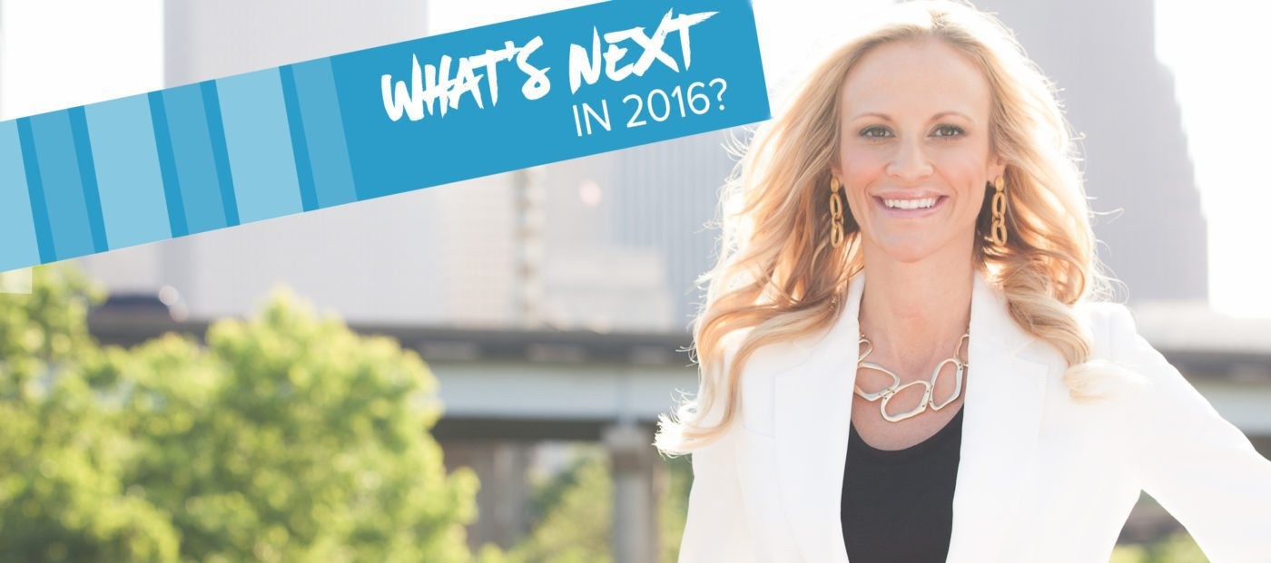 Sarah Jones on what's next in 2016