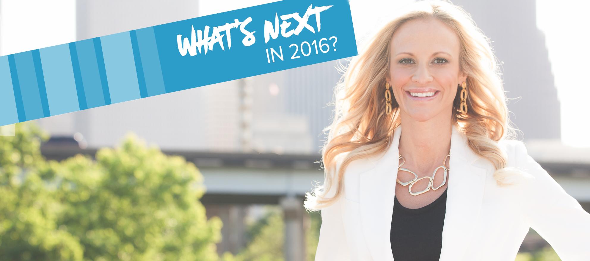 Sarah Jones on what's next in 2016