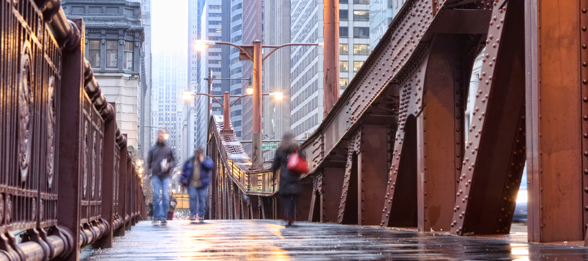 Chicago commuters