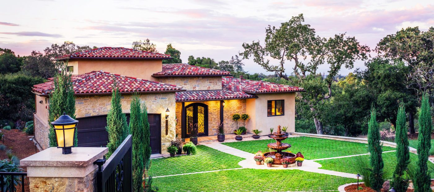 Luxury listing of the day: Gated Tuscan estate in Los Altos Hills, Calif.
