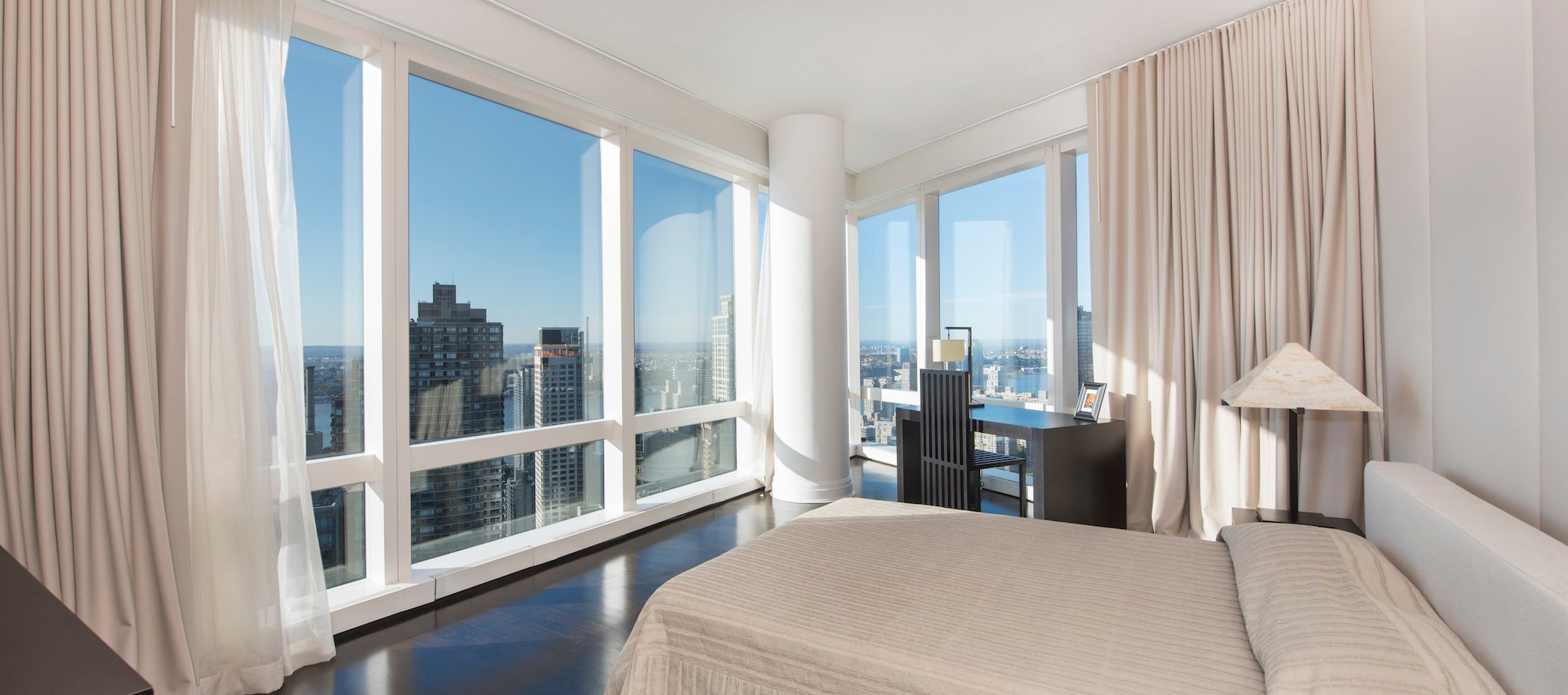 Luxury listing of the day: NYC UWS residence at the Mandarin Oriental Hotel