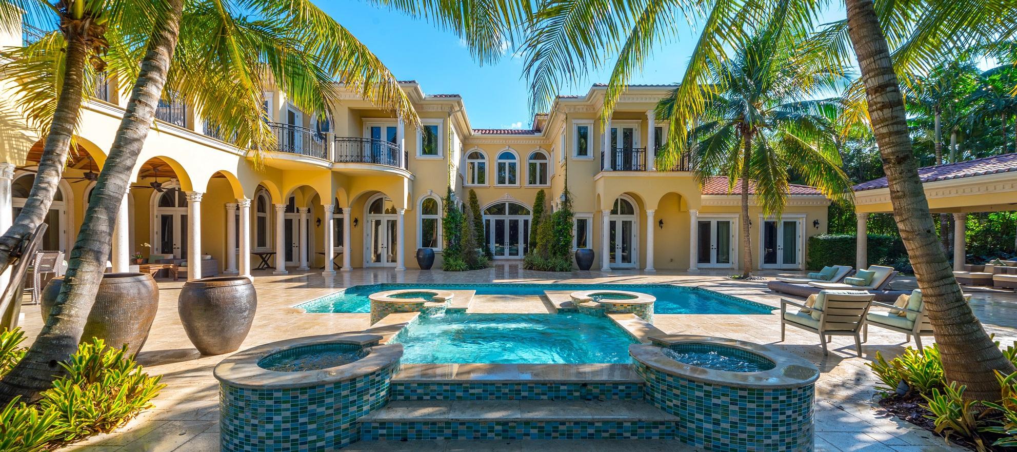 Luxury listing: custom-built Mediterranean estate