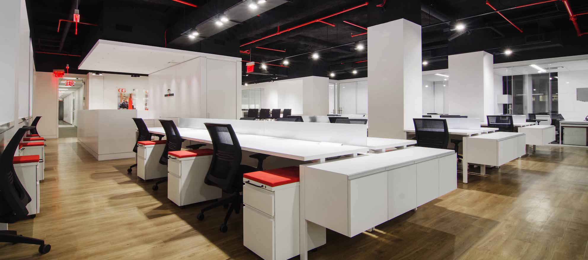 Inside the Engel & Volkers New York office
