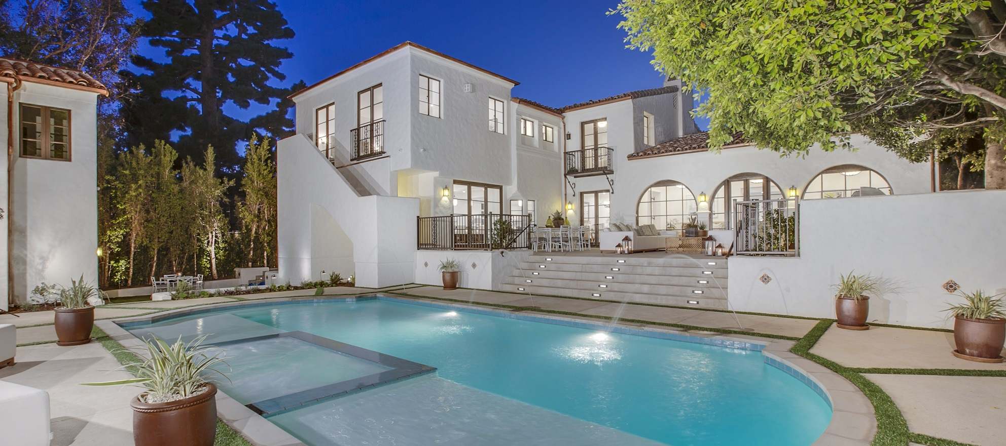 Luxury listing: completely updated 1929 Spanish colonial