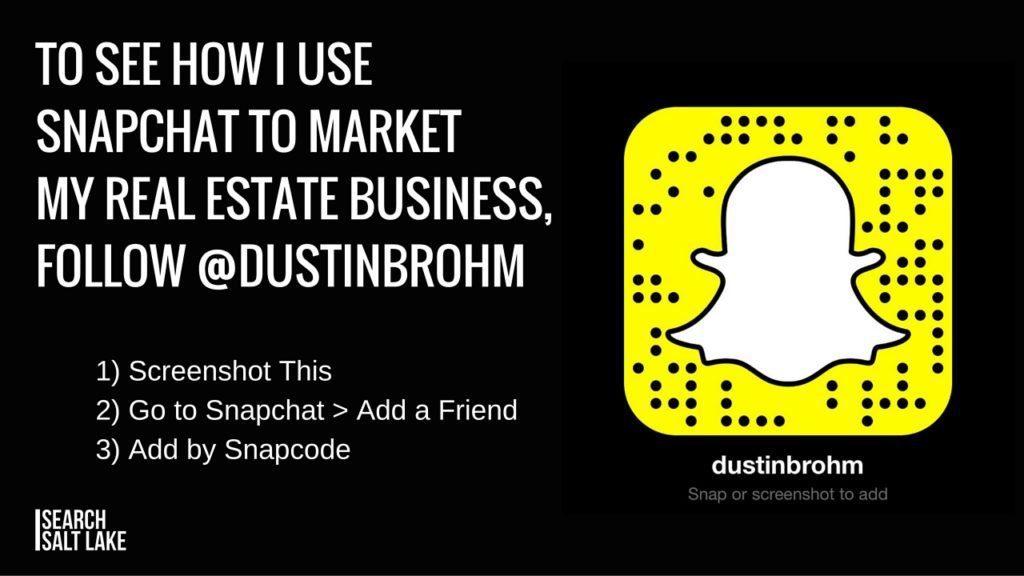 Snapchat for Real Estate