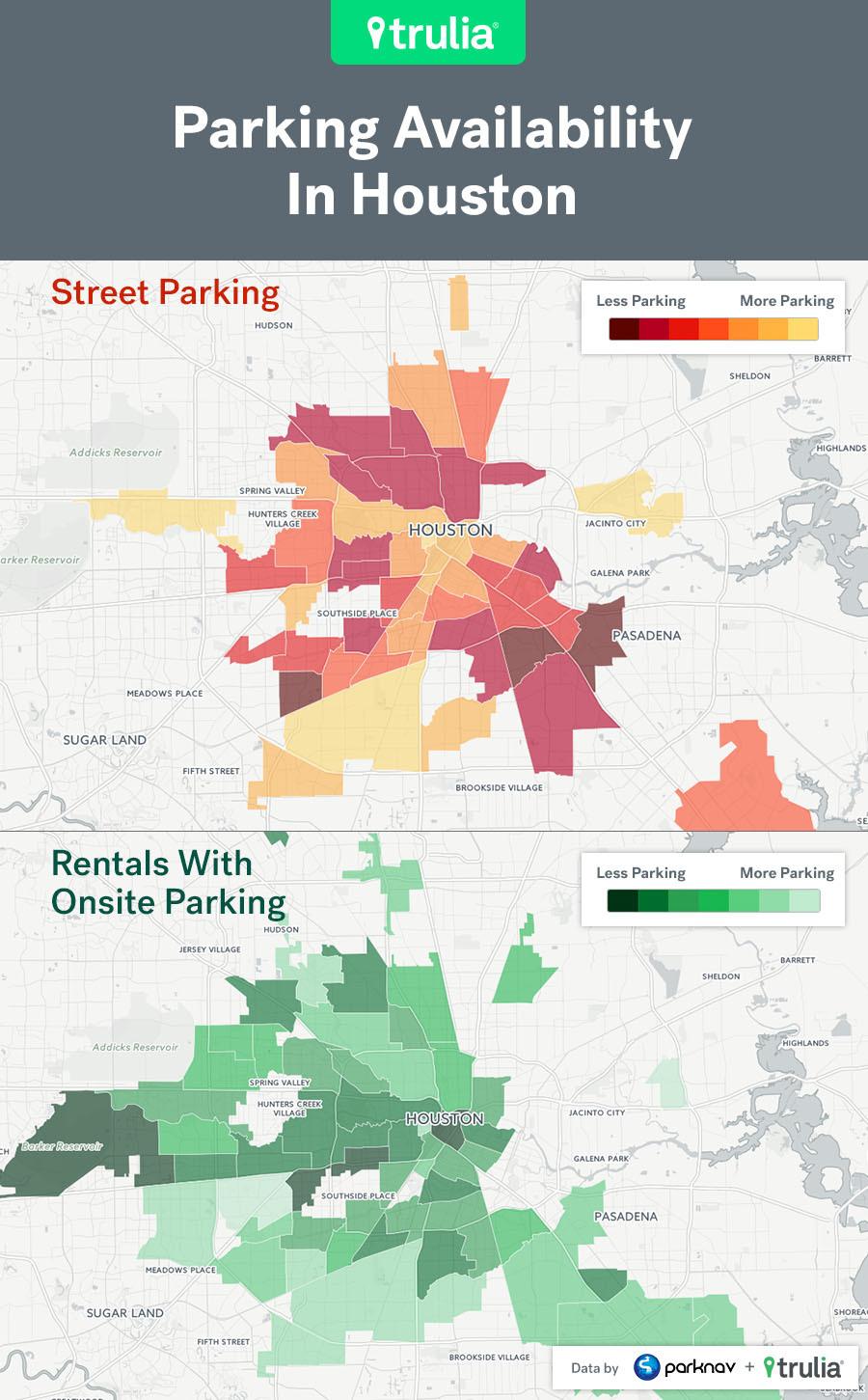 Trulia Parking Map Houston