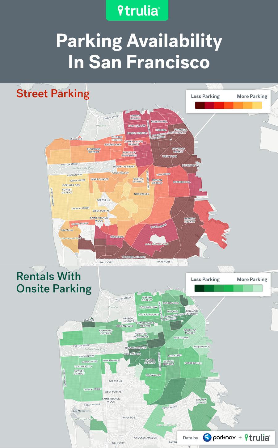 Trulia Parking Map SF