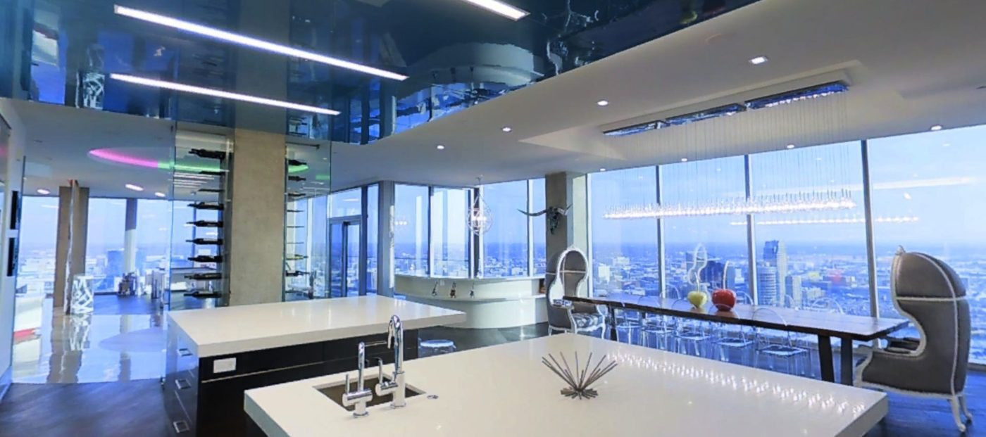3-D home of the day: Penthouse in the sky