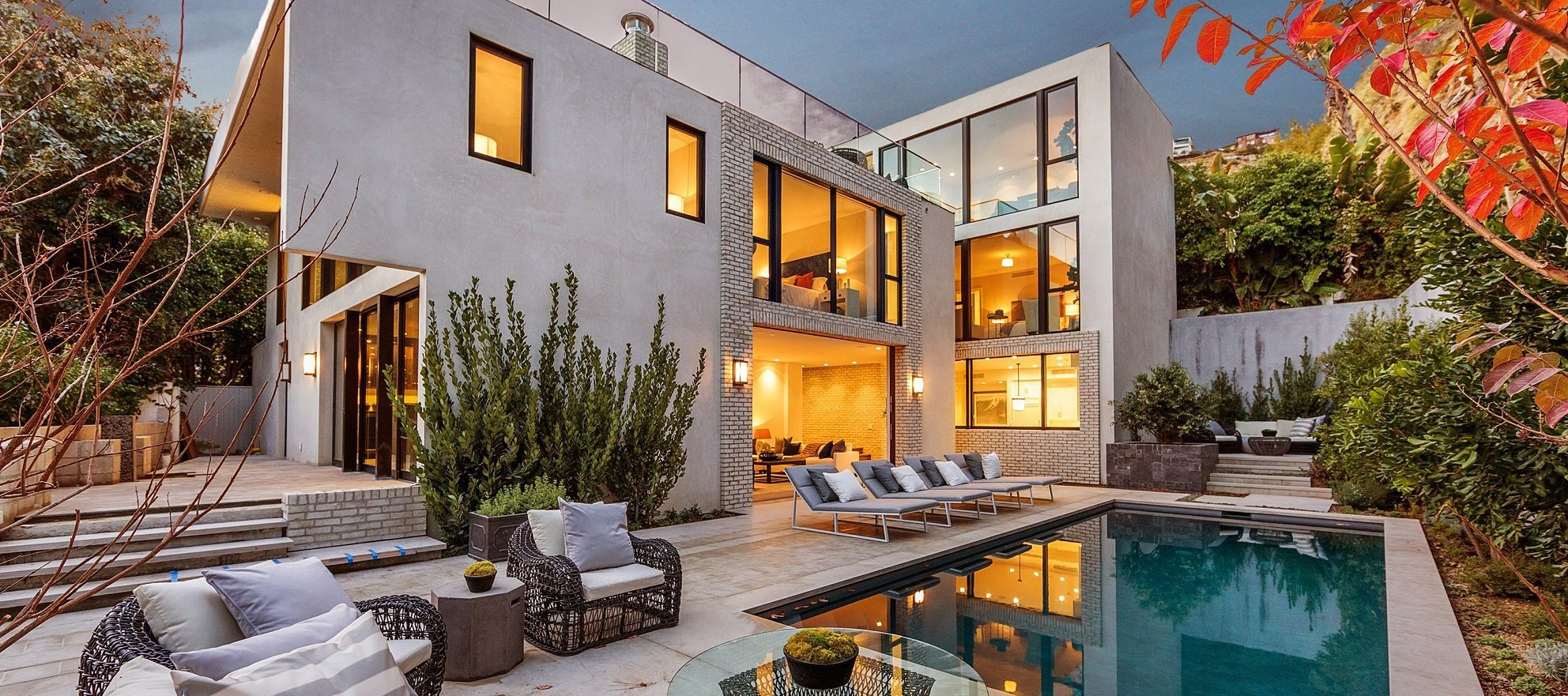 Luxury listing: contemporary architectural gem in Hollywood Hills
