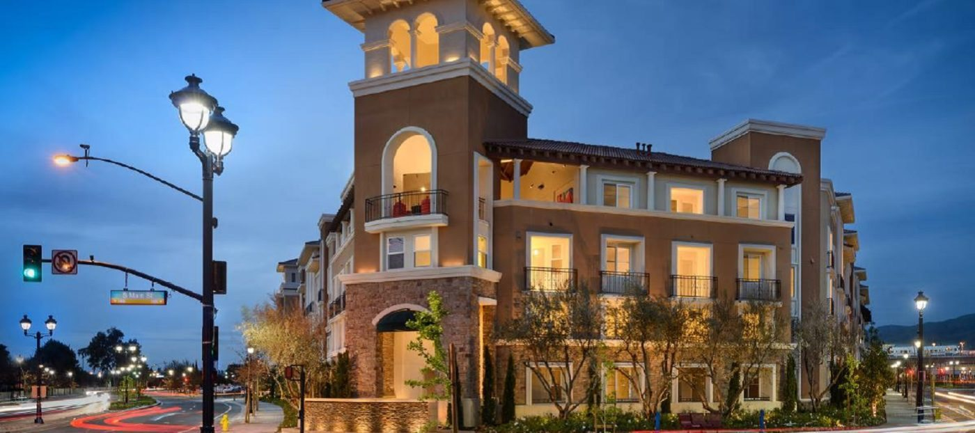 Development of the day: Luxury apartments in the center of Milpitas