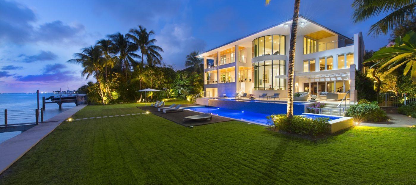 Luxury listing: three-story custom-built Key Biscayne home
