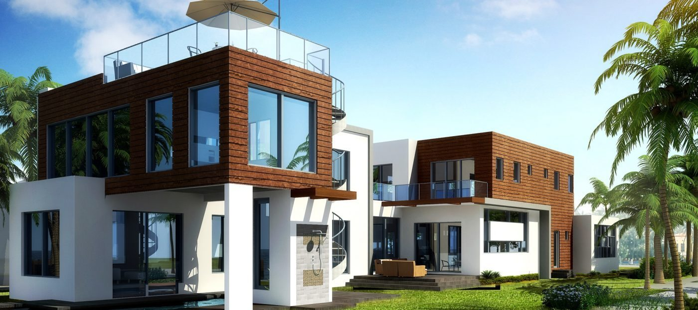 Development of the day: modern luxury along Biscayne Bay
