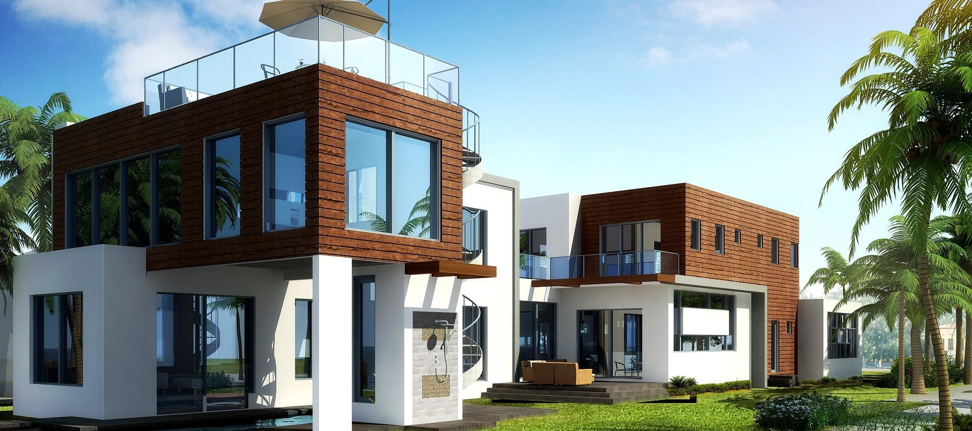Development of the day: modern luxury along Biscayne Bay