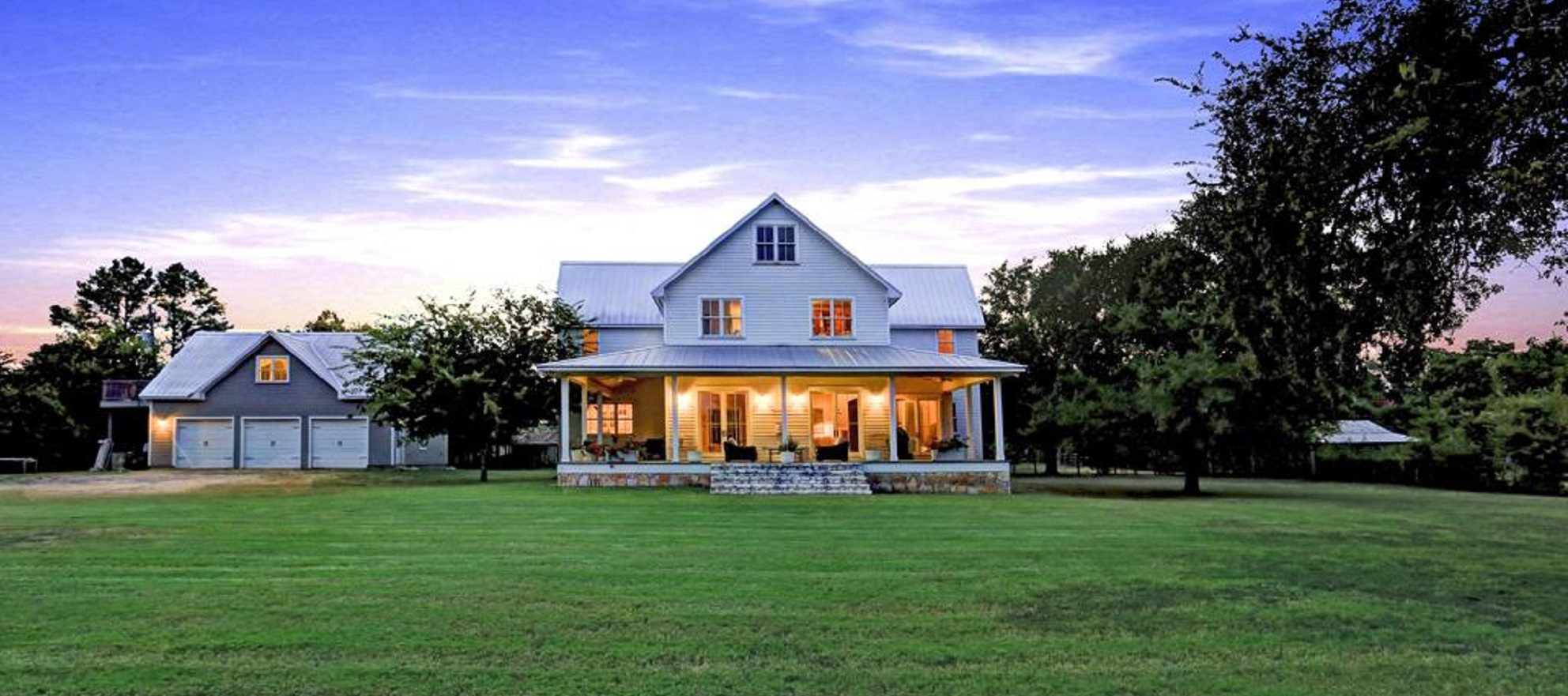 SMARTePLANS listing: rustic farmhouse on more than three acres