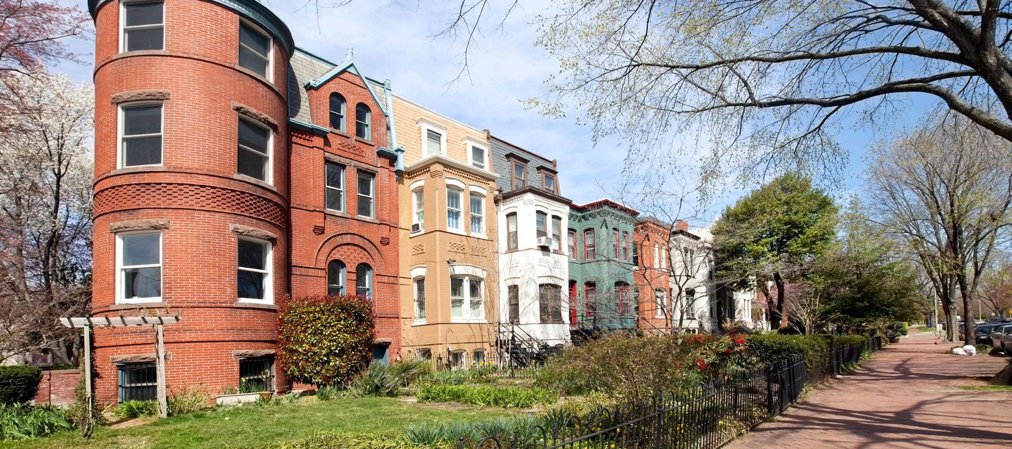 Home prices in DC