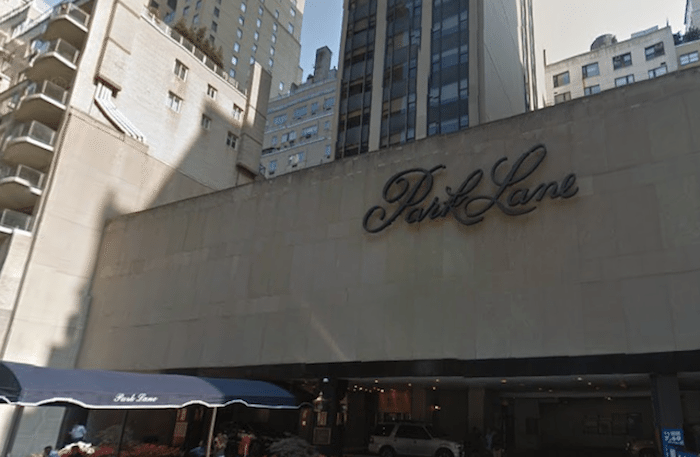 Park Lane Hotel renovation put on hold