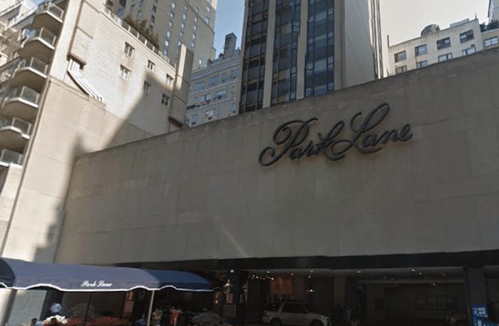 Park Lane Hotel renovation put on hold