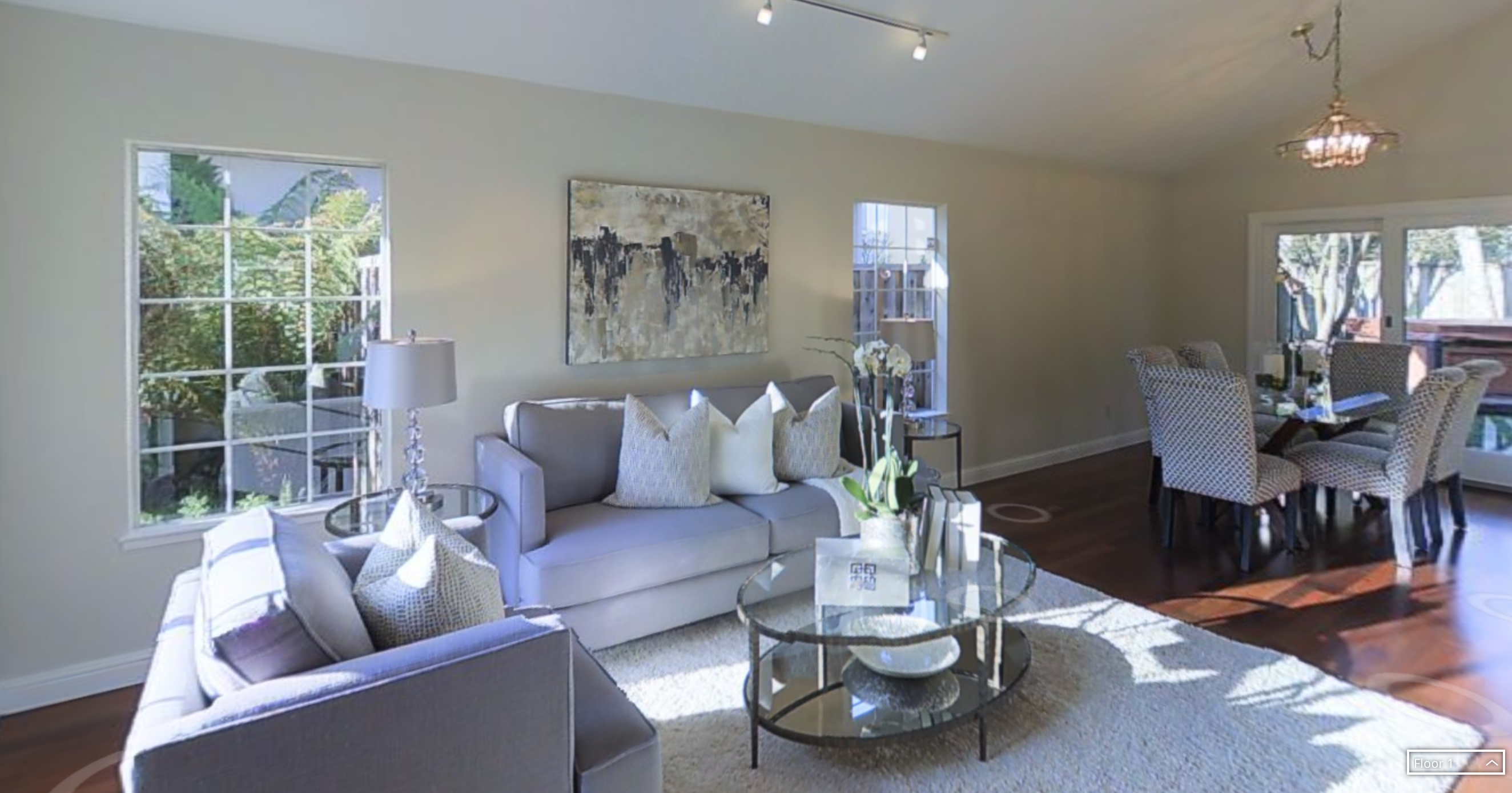 3-D home of the day: Contemporary Bay Area Peninsula home