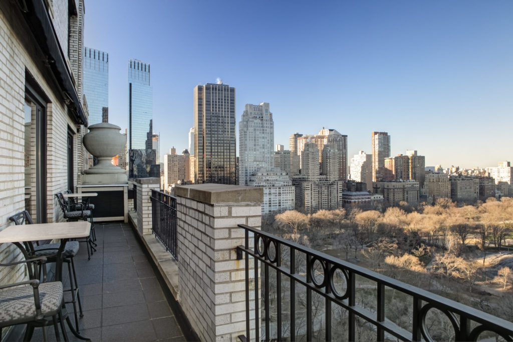 Luxury listing: 'Hampshire House' high-rise over Central Park
