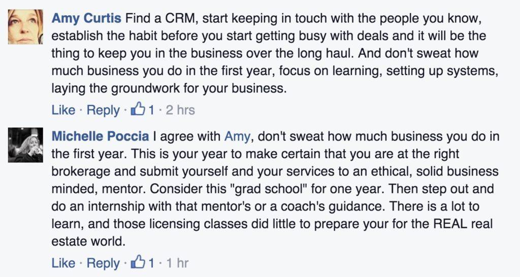 inman coast to coast facebook conversation