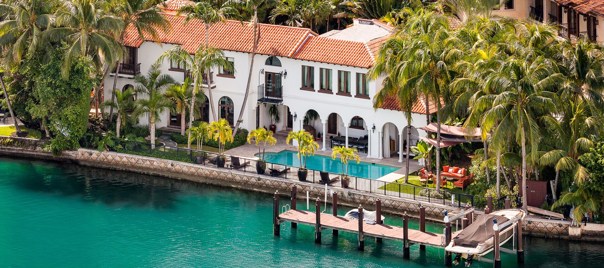 Luxury listing: old world meets modern waterfront estate