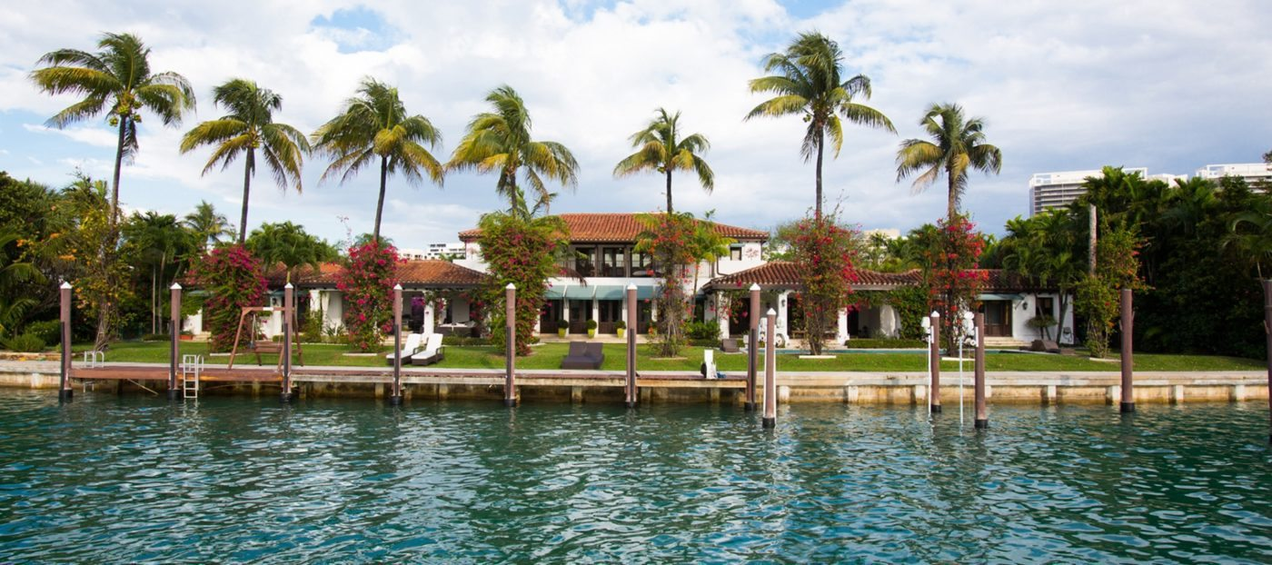 Luxury listing: private estate on the water