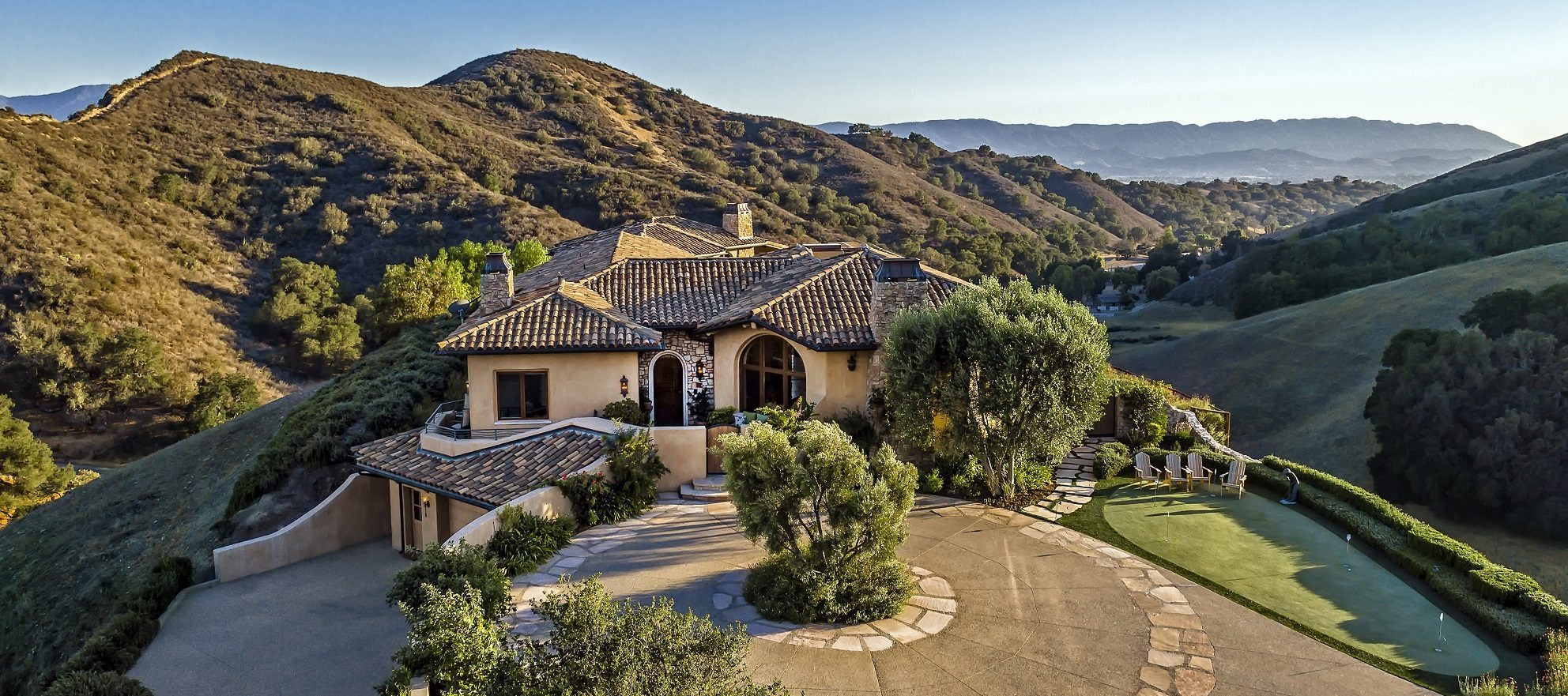 Luxury listing: gated retreat in the mountains