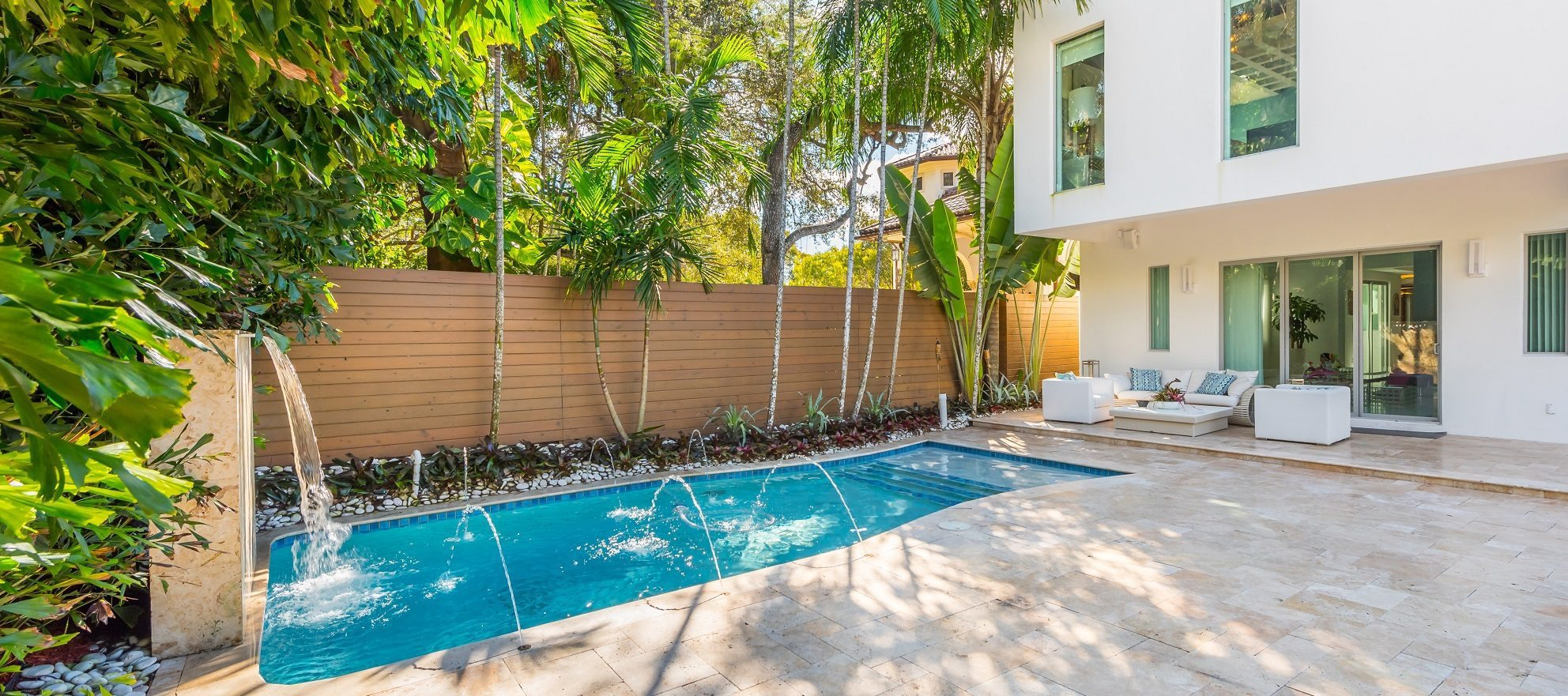 Luxury listing: tropical oasis in the center of Miami