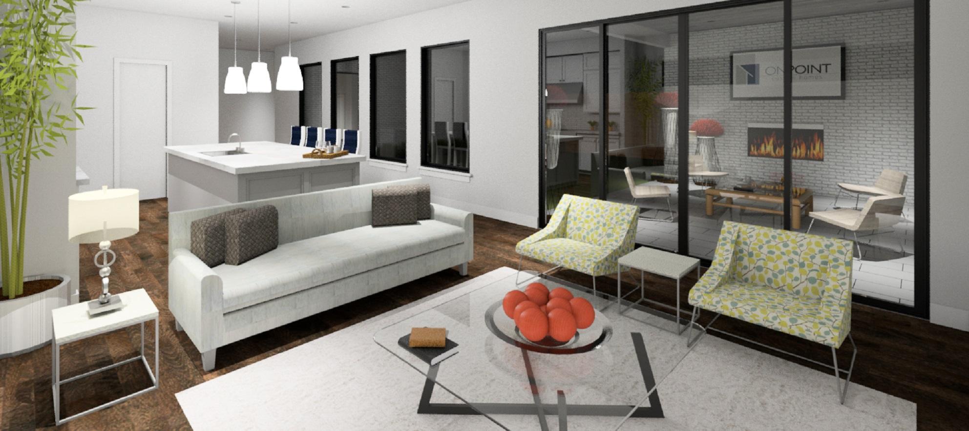 Development profile: sleek and modern custom home