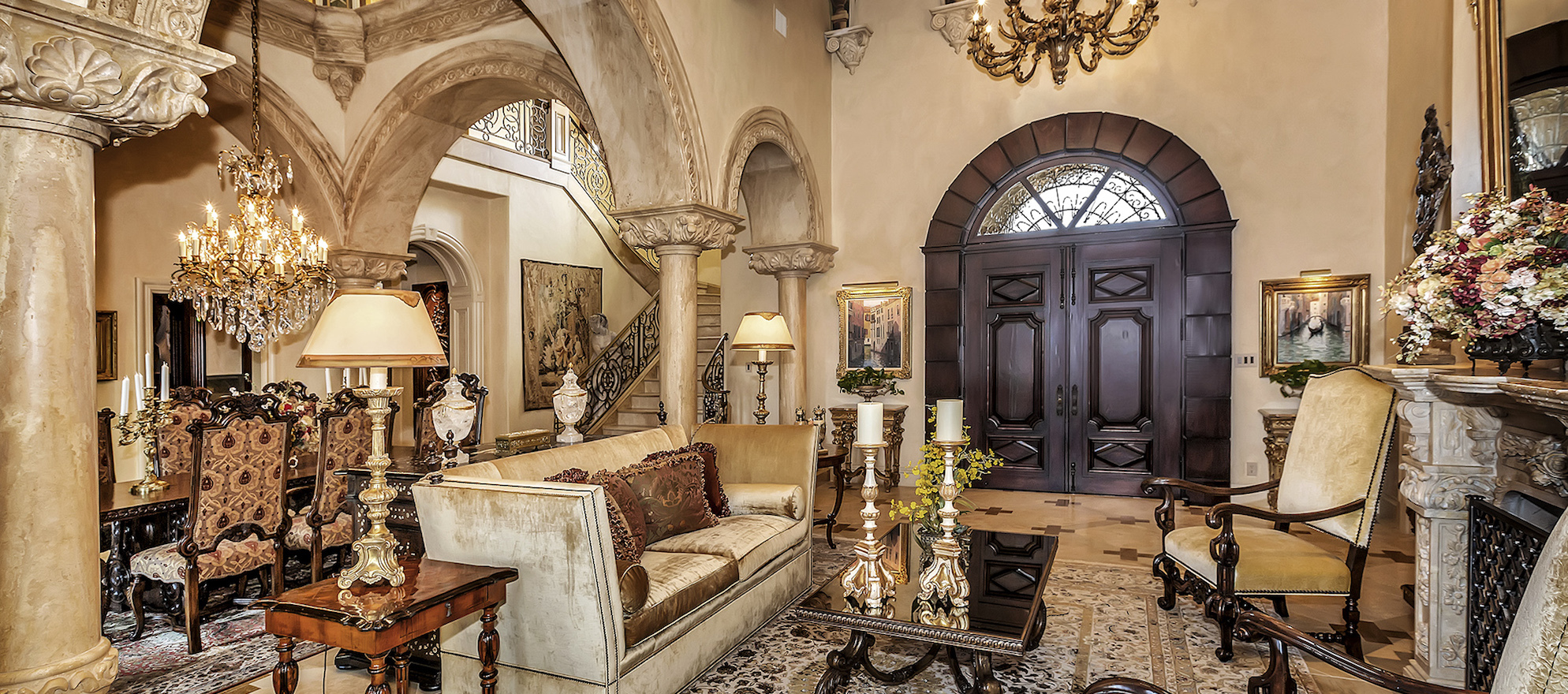 Luxury listing: Opulent Mediterranean-style 'palace'