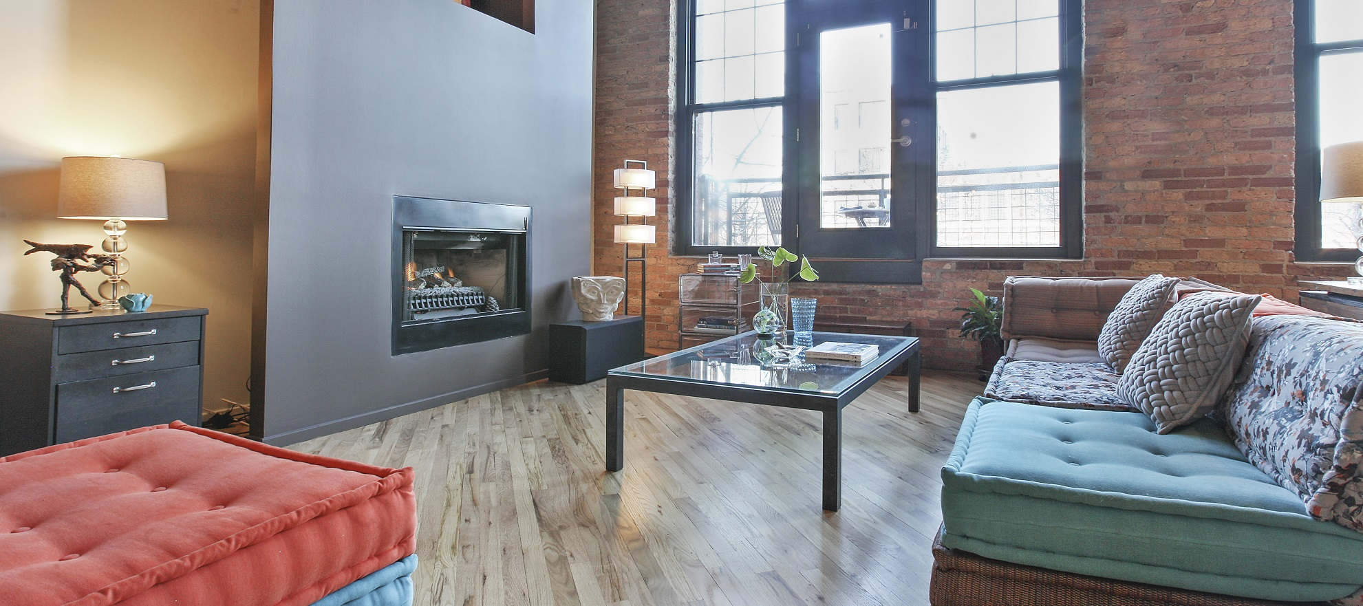 Luxury listing: towering timber loft in the West Loop