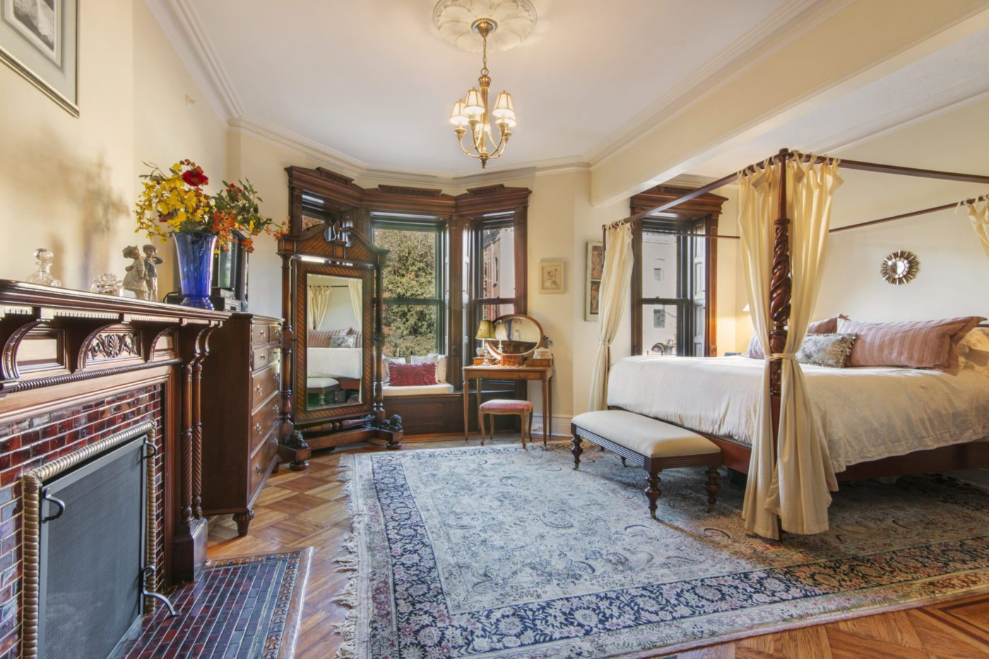 Restored brownstone in Park Slope