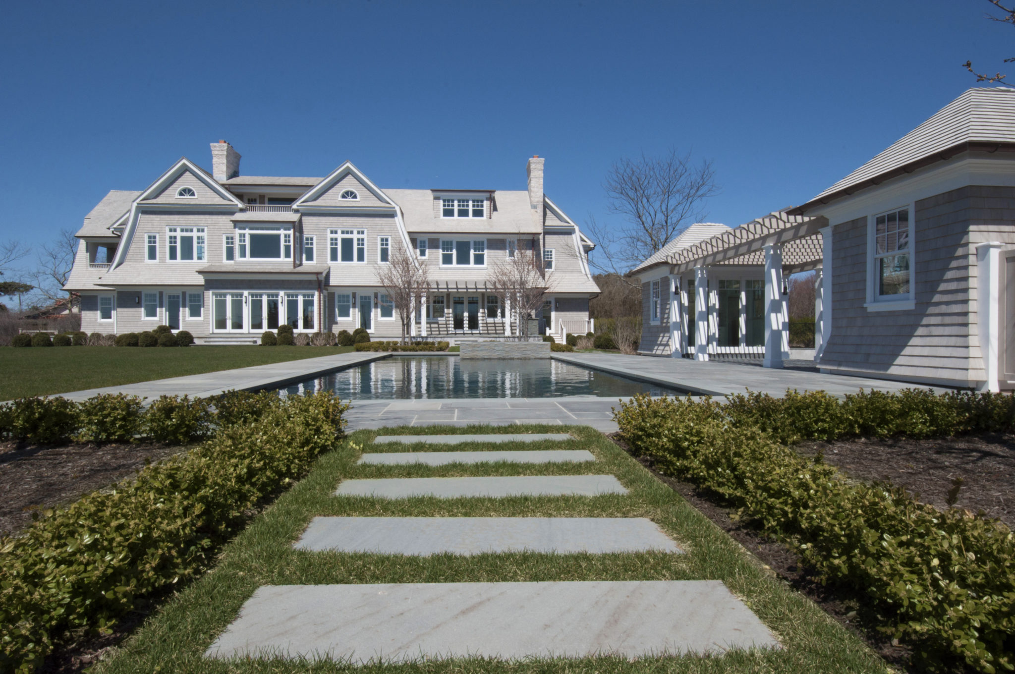 mansion in the Hamptons