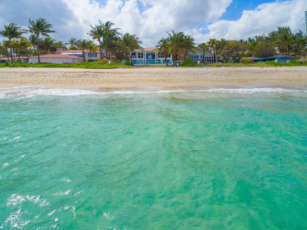 An oceanside view of Sammy Sosa's just-sold pad.