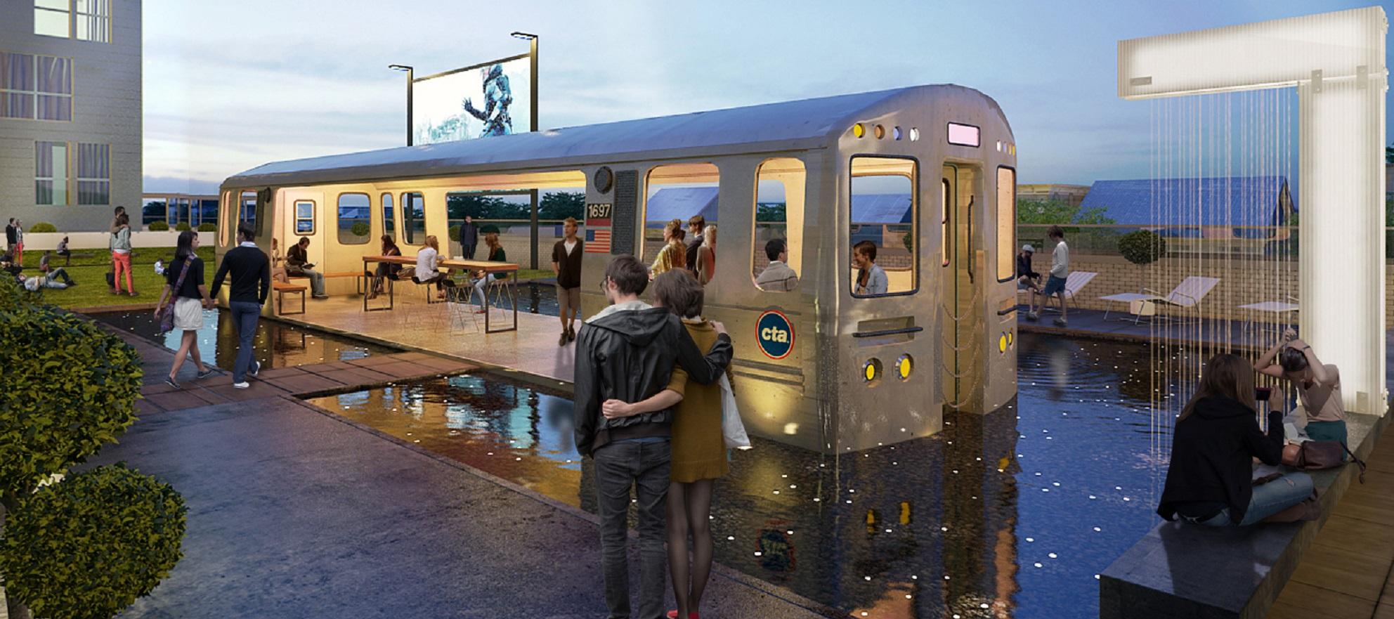 Logan Square building fully embodies 'transit-friendly'