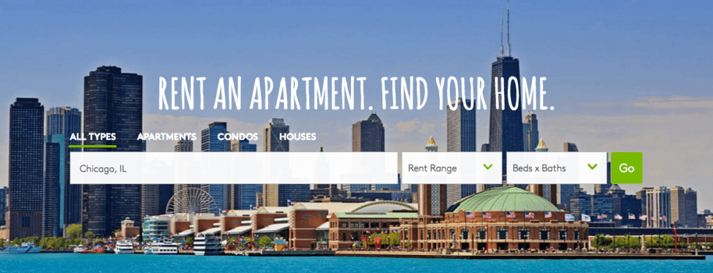 Amazing The Apartments.com Imagery For Site Visitors In Chicago.