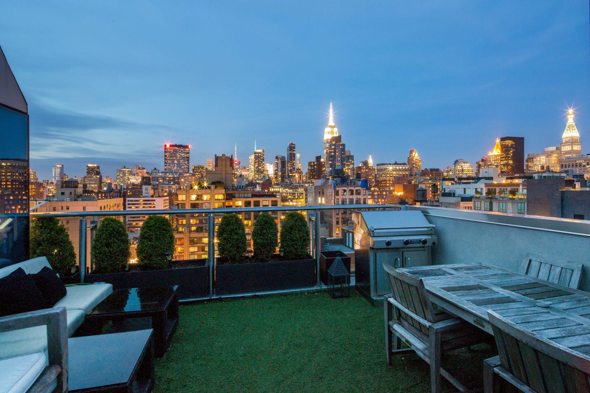 Manhattan penthouse in Chelsea